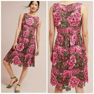 ERI + ALI Anthropologie, Floral Lalia Dress